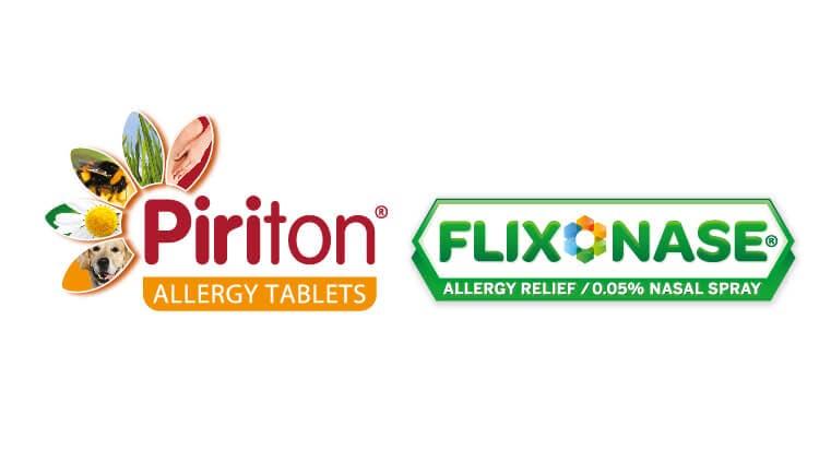Piriton & Flixonase Logo