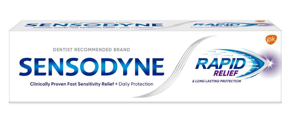 Sensodyne Rapid Relief packshot