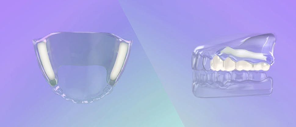 Denture adhesive mode of action