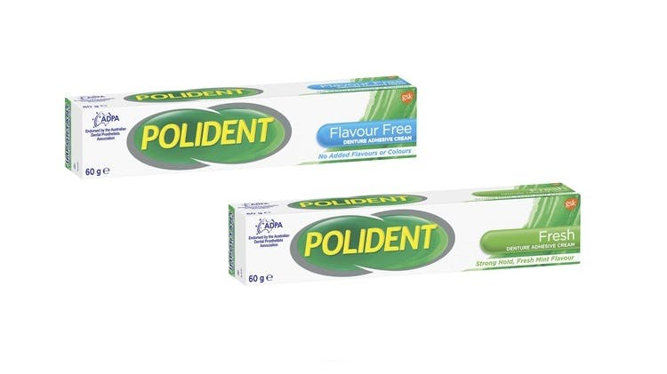 Polident adhesives image