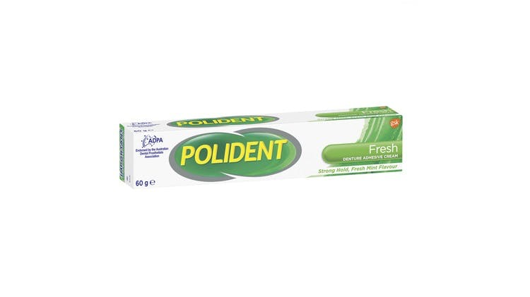 Polident fresh adhesive