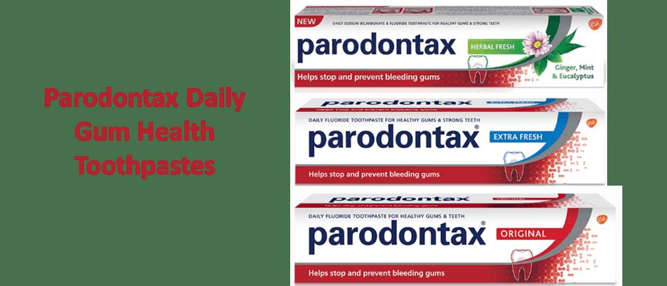 Parodontax Gum Health Toothpastes