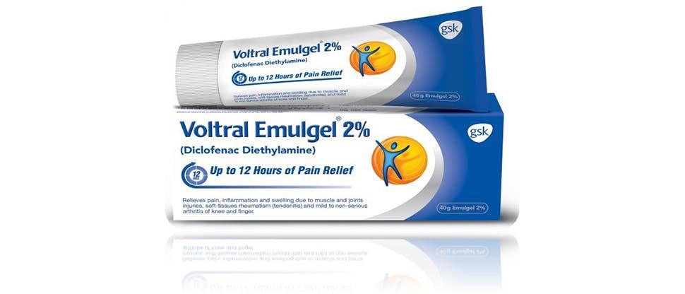 Voltral 12-hour 2.32% Emulgel product image