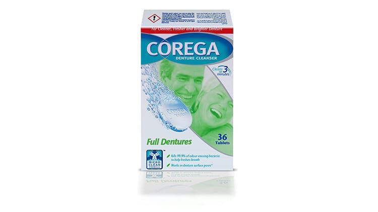 Corega cleansers