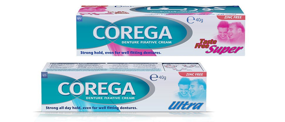 Corega Taste- Free super fixative