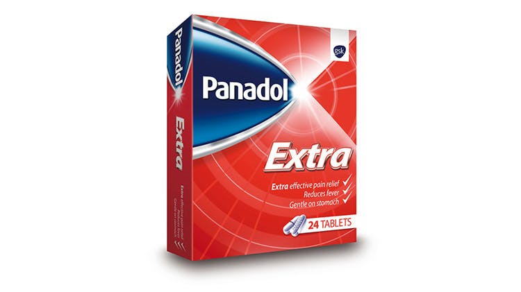 Panadol Extra pack shot