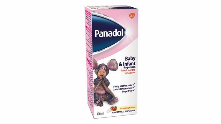 Panadol Baby & Infant pack shot