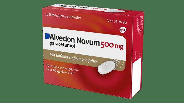 Alvedon Novum pack shot