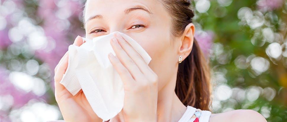 Nasal allergy photo