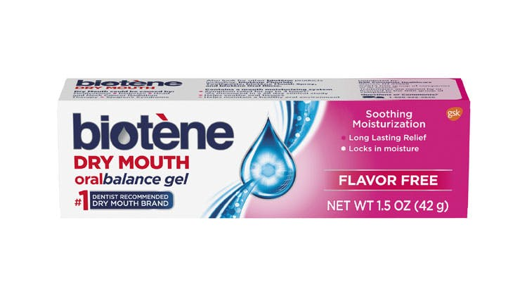 Biotène Oral Balance gel pack