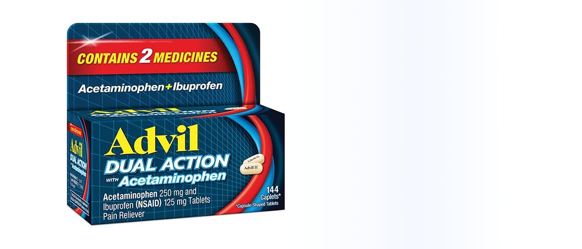 Advil Dual Action Box image