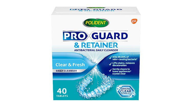 Polident Pro Guard & Retainer