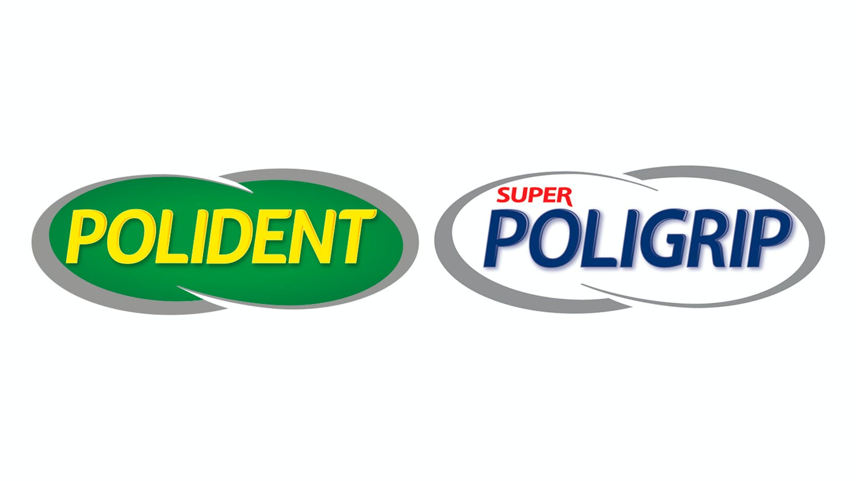 Poligrip & Polident logo