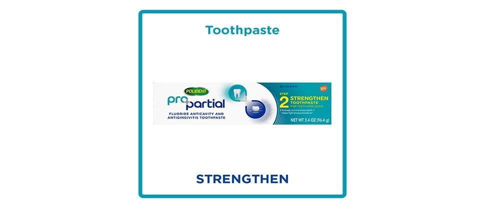 Toothpaste - strenthen
