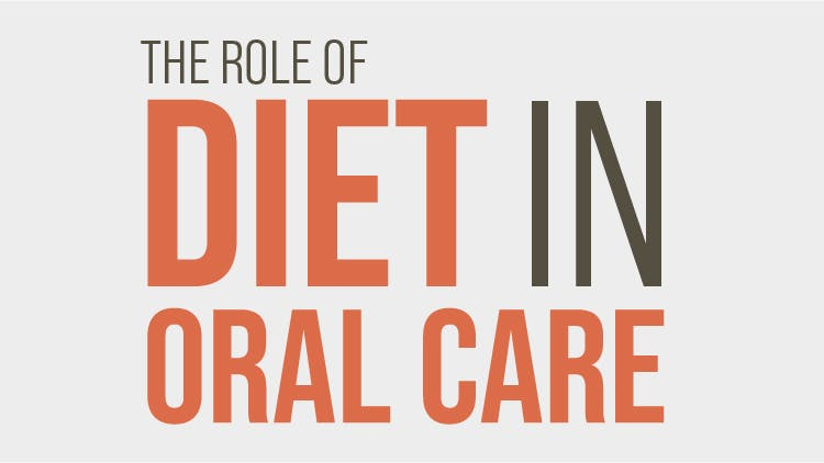 Diet in oral care