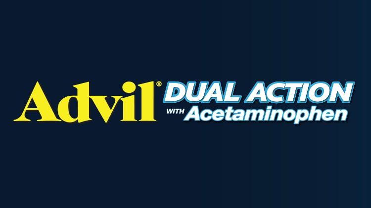Advil® DUAL ACTION pack shot