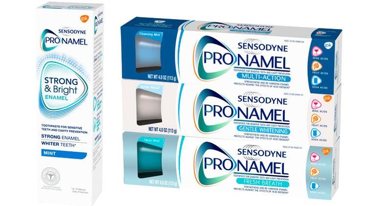 Pronamel Toothpaste range shot