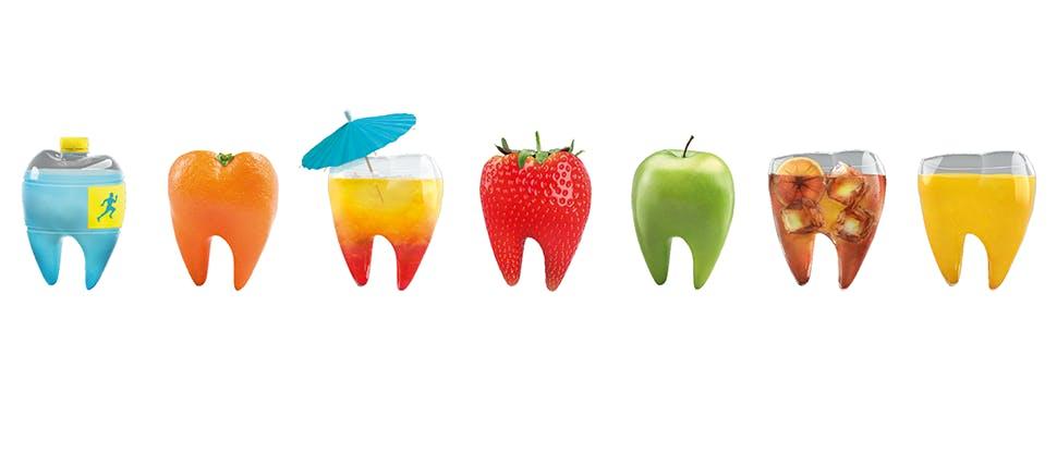 Exposure to dietary acids