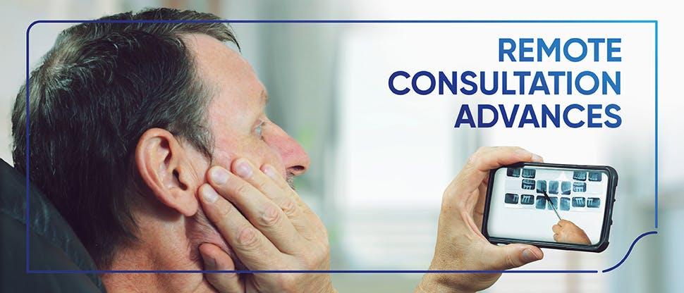 Remote consultation advances