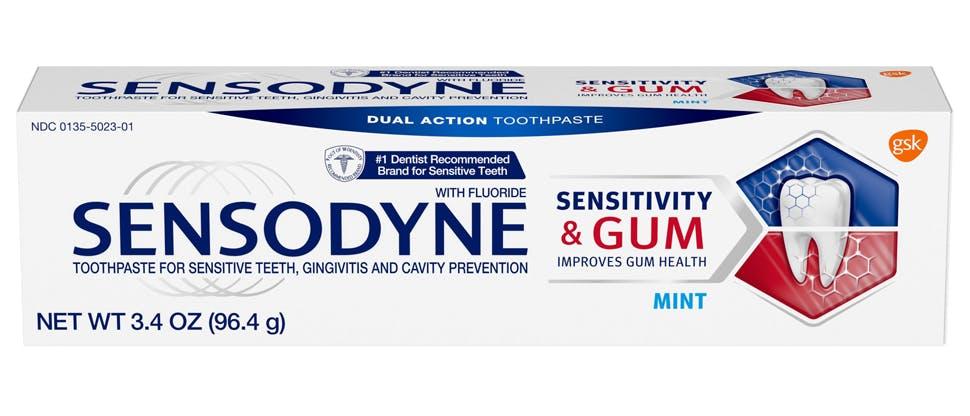 Sensitivity & Gum packshot