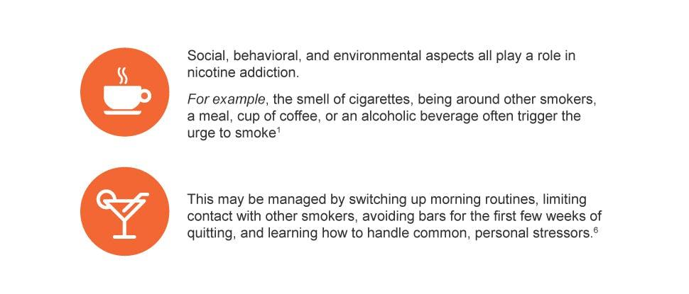 Social & environment aspect; Nicotine addiction