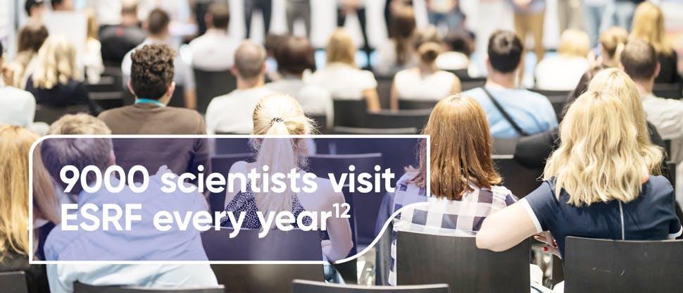 9000 scientists visit ESRF every year