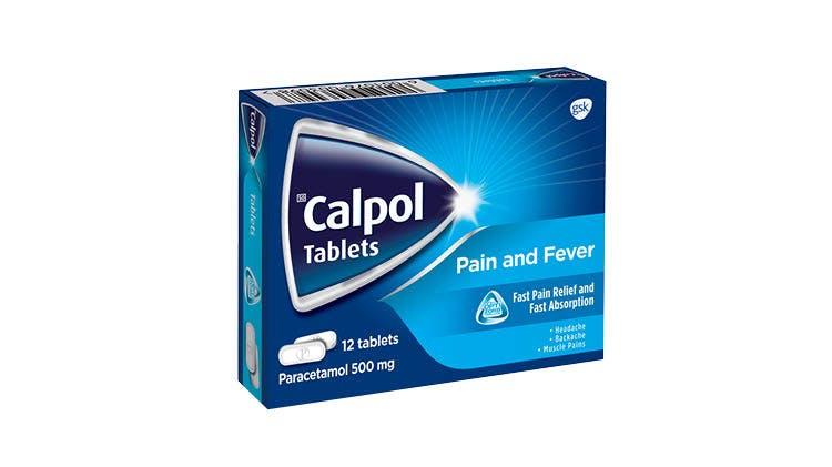 Calpol Tablets pack shot