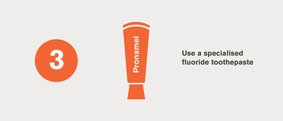 Specialist fluoride toothpaste