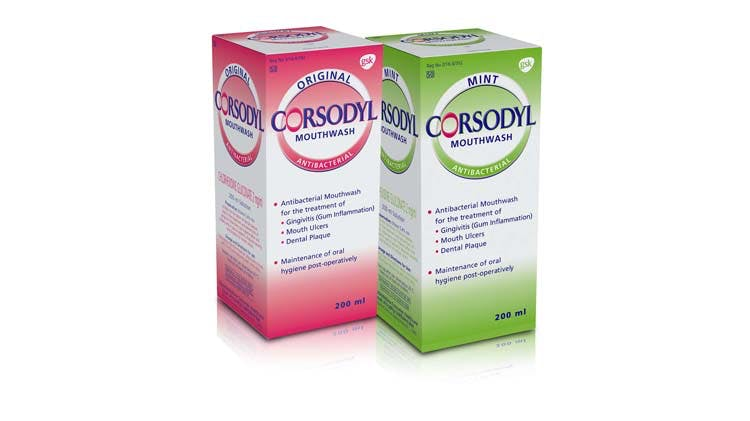 Corsodyl Short-Term Intensive Treatment