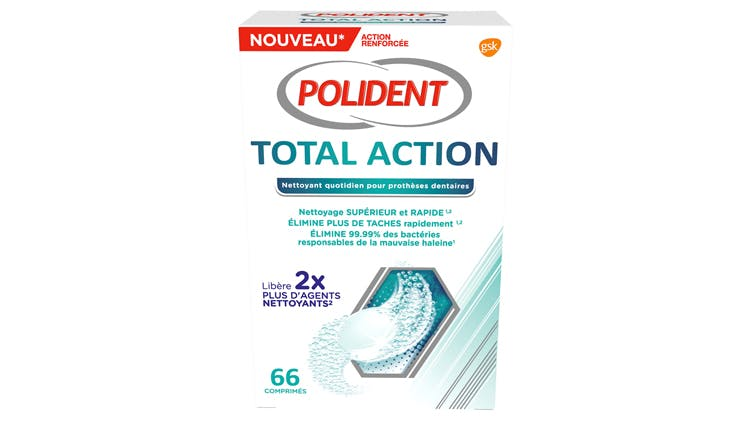 Nettoyant Polident Total Action