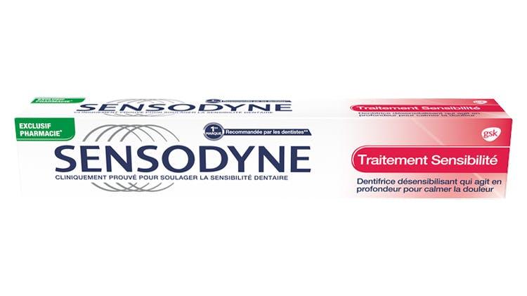 Dentifrice Sensodyne Traitememt sensibilité