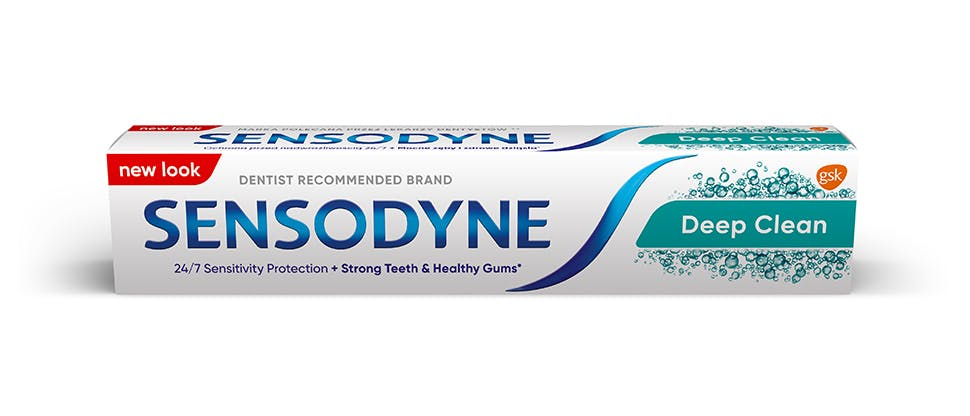 Sensodyne Deep Clean csomagolás