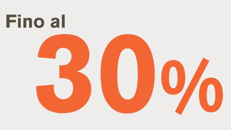 Icona fino al 30%