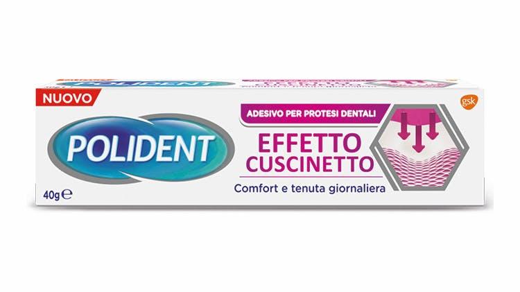 Polident Effetto Cuscinetto adesivo per protesi dentali