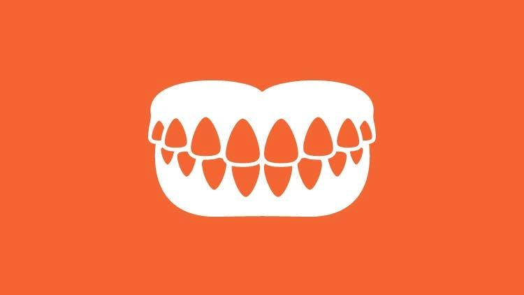 義歯のアイコン