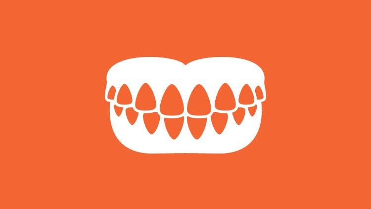 義歯ケアのアイコン