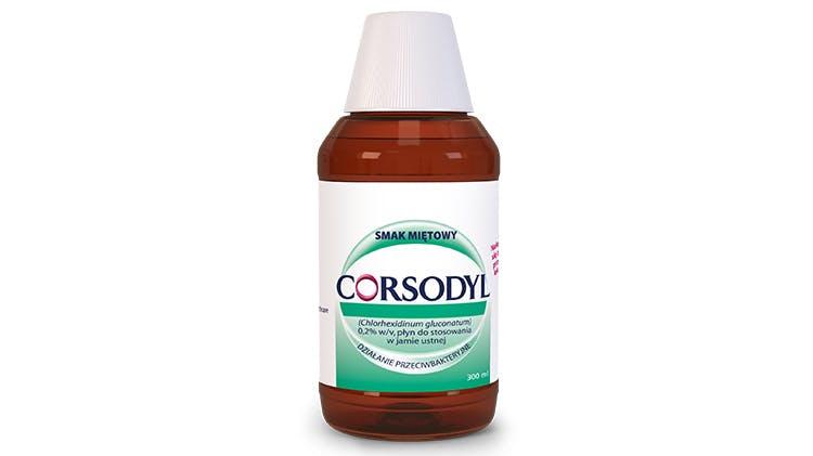 Płyn do płukania jamy ustnej Corsodyl 0,2%