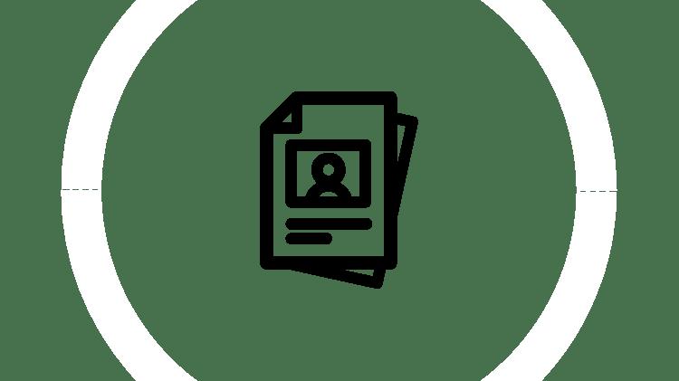 Ikona zasobów dotyczących opieki nad pacjentami