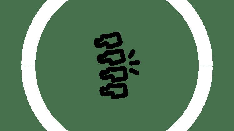 Ikona bólu pleców