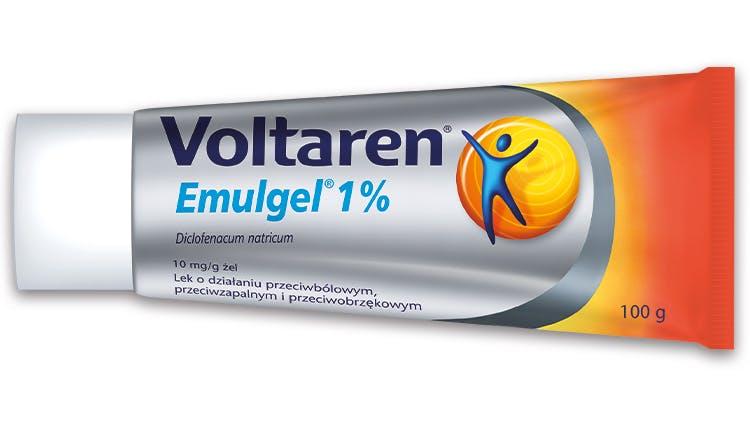Voltaren potrójne działanie Emulgel 1%