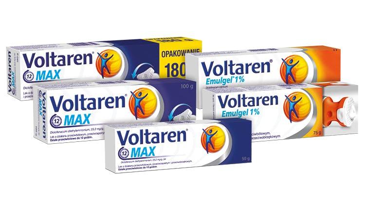 Produkty zawierające diklofenak