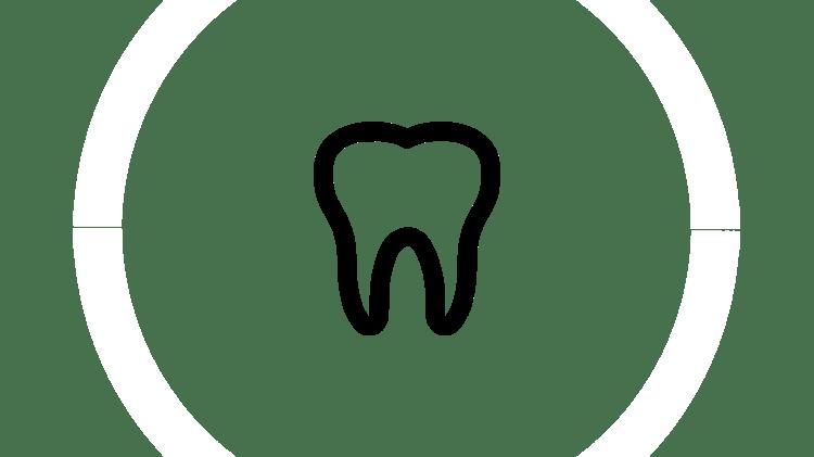 Pictogramă cu dinte