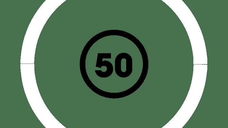 Pictogramă cu 50 de ani