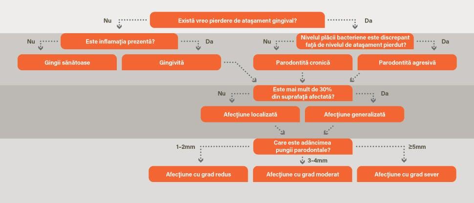 Diagramă a diagnosticului