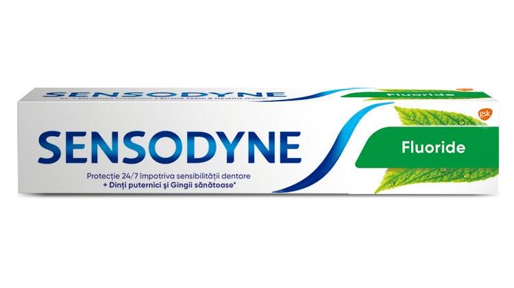 Pasta de dinţi Sensodyne Fluoride