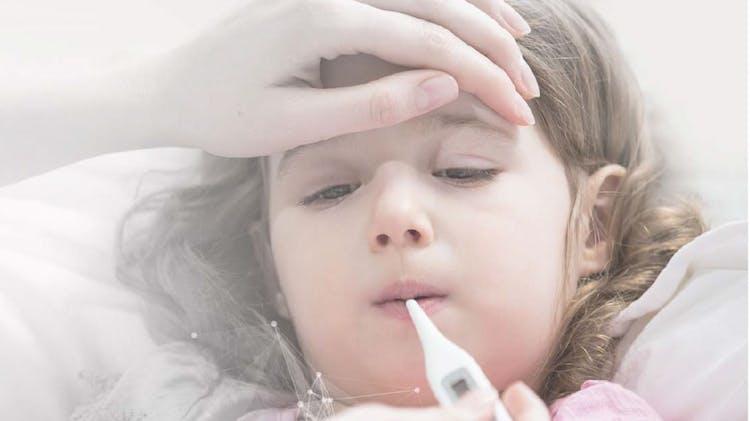 Copil febril