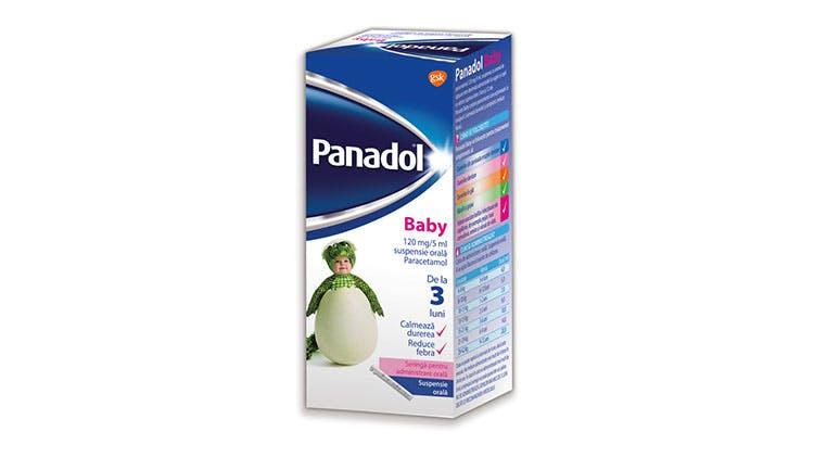Fotografia ambalajului Panadol Baby
