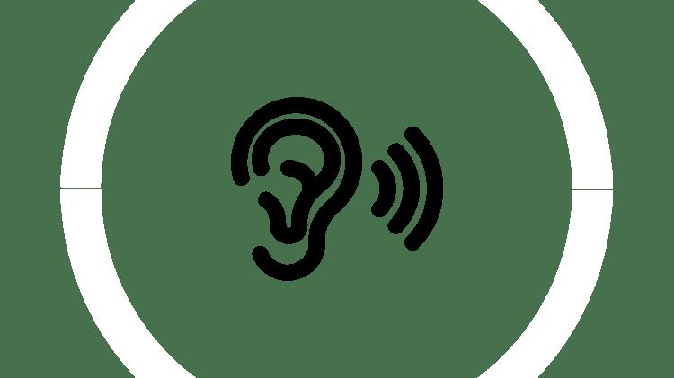 Значок «Слушание»