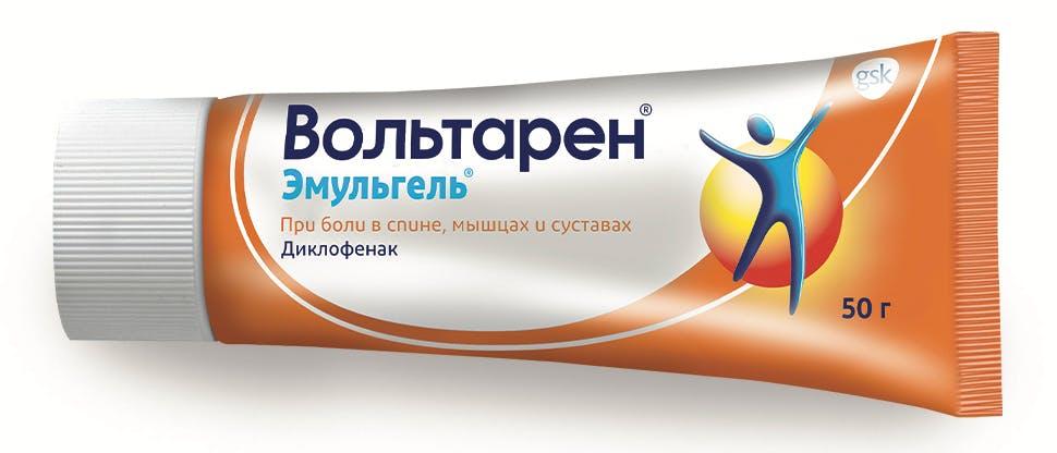 Изображение лекарственного препарата Вольтарен 1% со специальным аппликатором