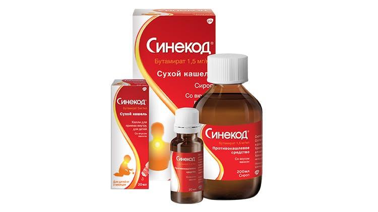 Фотография упаковки препарата Синекод